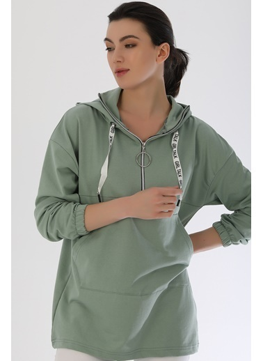 Emjey Sweatshirt Yeşil